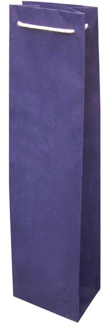 taška na víno, papír, barva modrofialová, 1FBBB006001
