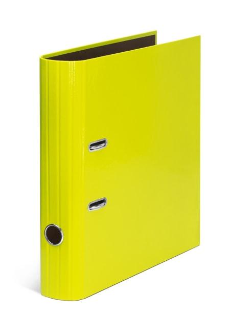 Pořadač A4 pákový 7,5 cm, lamino – CANTEIRA/žlutozelený