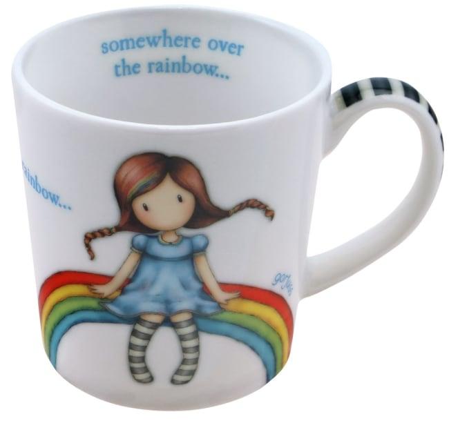 Hrneček malý Santoro London – Rainbow Heaven, 8.5 x 10.8 x 8cm