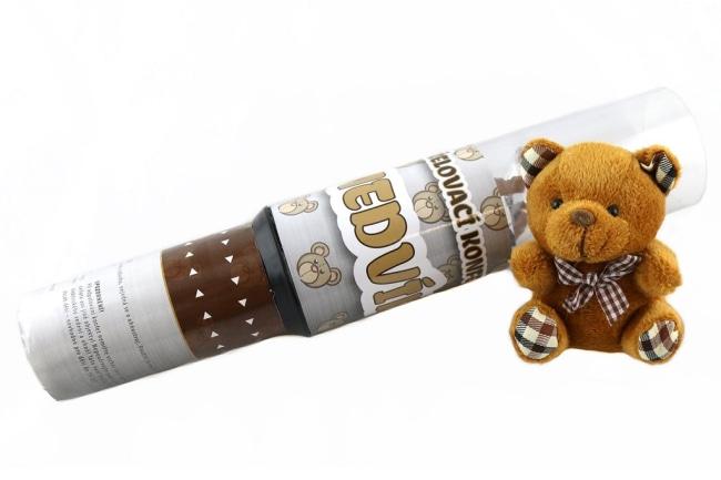 Vystřelovací konfety medvídek/KAPS