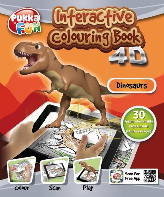 Interaktivní omalovánky - dinosauři