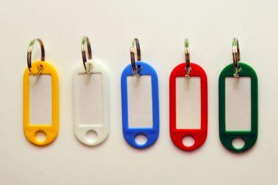 Jmenovky na klíče