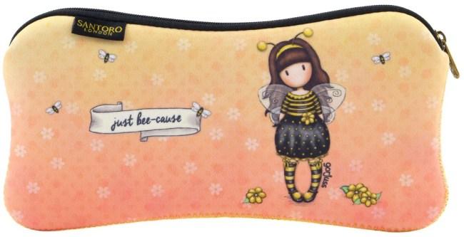 Neoprenový penál Santoro London - Bee Loved (Just Bee-Cause)