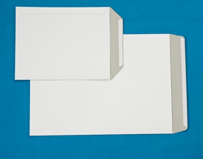 Kartonová prostor.obálka formát B4 plus rozměr 280 x 375 + 65 mm ,350g/m2
