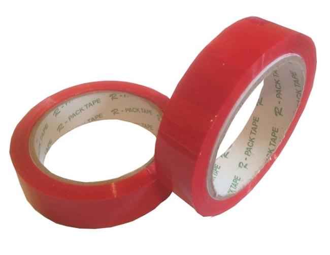 Balicí lepicí páska 24 x 66  červená