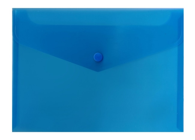 Spisové desky s drukem A5 (240 x 178),bal.po10- modrá