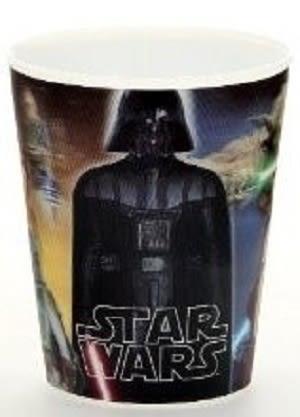 Plastové kelímky 3D. Star Wars  ,,Saga´´ , vhodné do myčky