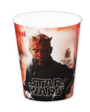Plastové kelímky 3D. Star Wars  ,, Darth Maul ´´, vhodné do myčky