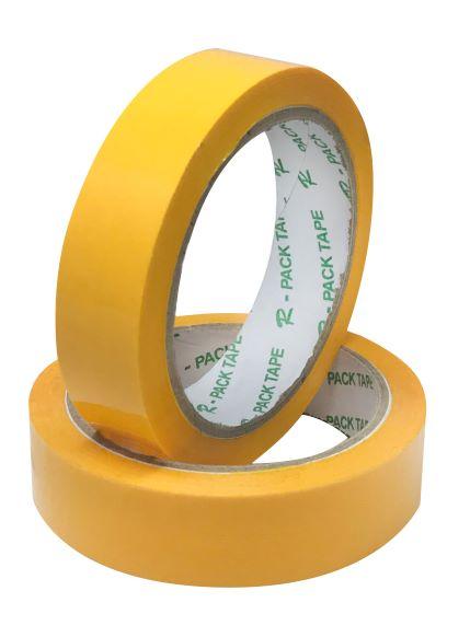 Balicí lepicí páska 24 x 66 m žlutá