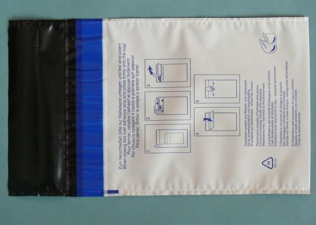 Bezpečnostní obálka s bezpečnostní páskou 250 x 350 + 85 mm