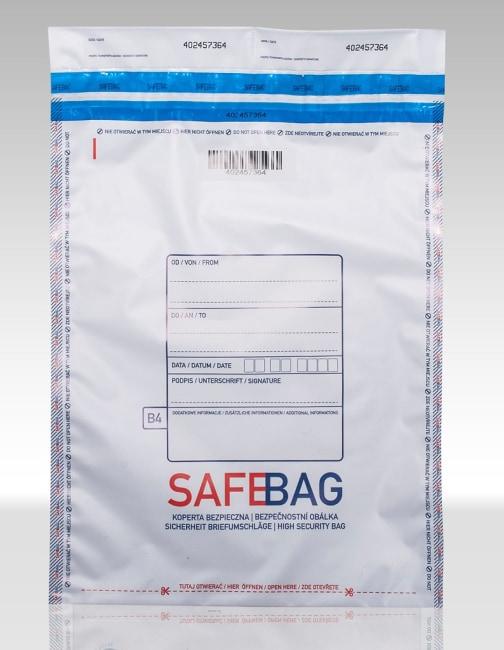 Bezpečnostní obálky SAFEBAG 160x245+35mm