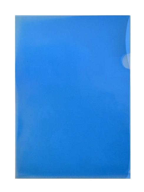 Zakládací obaly L PP, modré, formát A4, 160 my REGORD