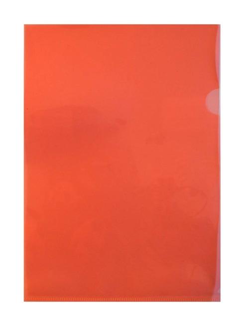 Zakládací obaly L PP, světle červené, formát A4, 160 my REGORD