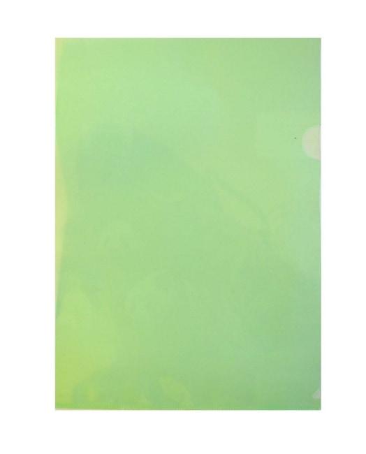 Zakládací obaly L PP, zelené, formát A4, 160 my REGORD