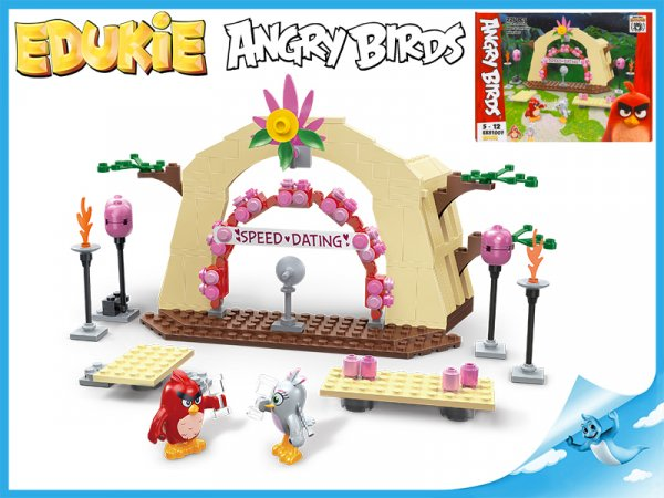 Stavebnice EDUKIE Angry Birds seznamka 224ks