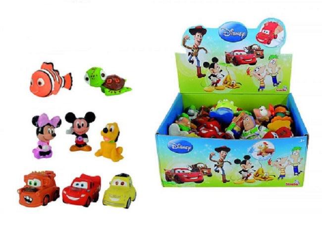 Stříkací gumové figurky Disney