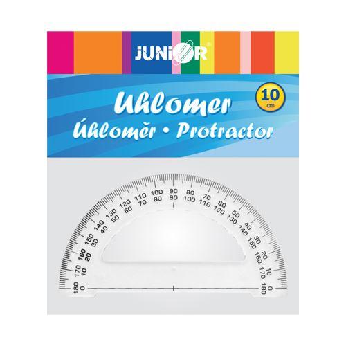 Úhloměr JUNIOR, plastový, 10 cm