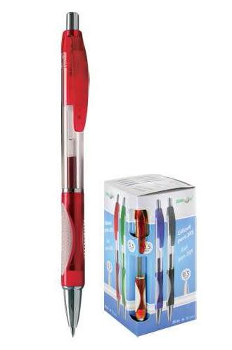pero gelové 205A červené