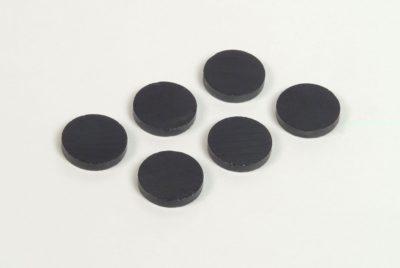 magnety černé, 12ks