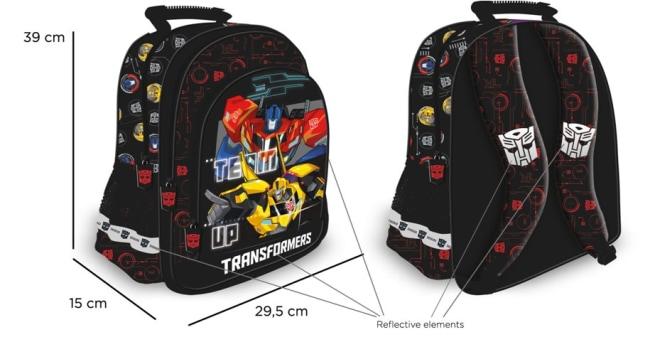 Školní batoh 15  Transformers