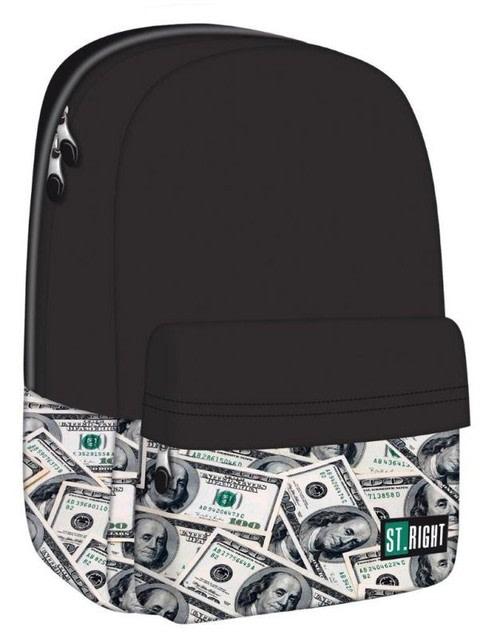 školní batoh St.RIGHT - DOLLARS jednokomorový