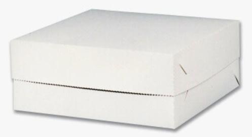 Dortová krabice 22 x 22 x 9cm, v  balení 50ks