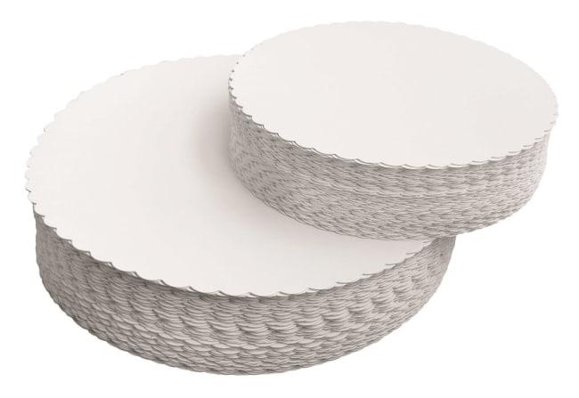 lepenkové podložky pod dort 22 triplex, průměr 22 cm, v balení 10ks