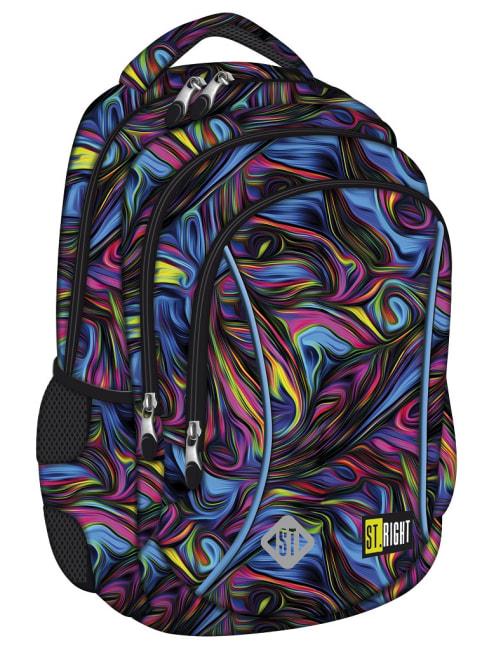 studentský batoh St.RIGHT - Blue Illusion,15 3 komorový