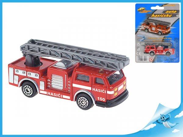 Auto hasičské 7cm kov