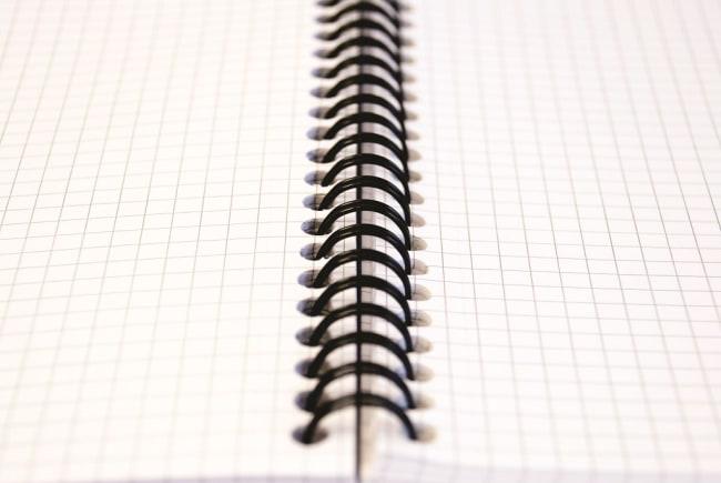 Pukka Pad Spirálový  blok Metallic Jotta A4, papír 80g,100 listů, čtverečkovaný,zelený