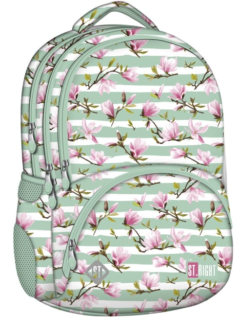 studentský batoh St.RIGHT - Magnolie,17 4 komorový
