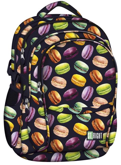 studentský batoh St.RIGHT - Macarons, 4 komorový, BP01