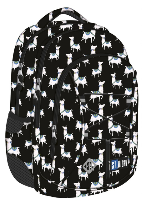 studentský batoh St.RIGHT - Lamas, 3 komorový, BP32