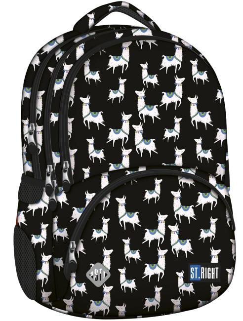 studentský batoh St.RIGHT - Lamas, 4 komorový, BP07