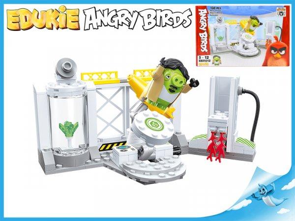 Stavebnice EDUKIE Angry Birds výzkumné středisko 130ks plast