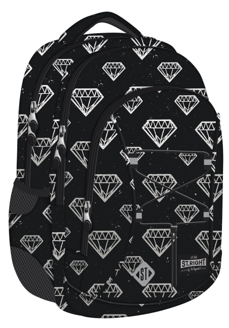 studentský batoh St.RIGHT - Diamonds,16 3 komorový
