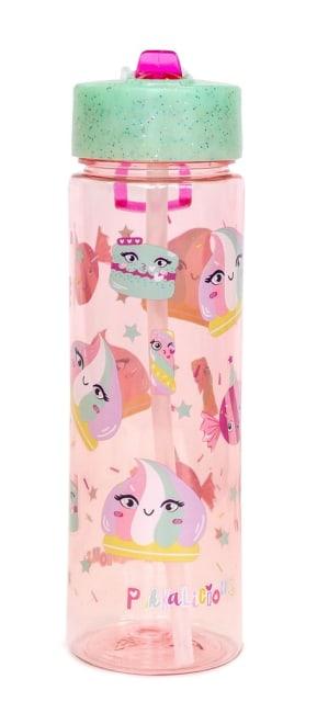Plastová láhev Pukka Pad růžová, 218x67mm, 650ml