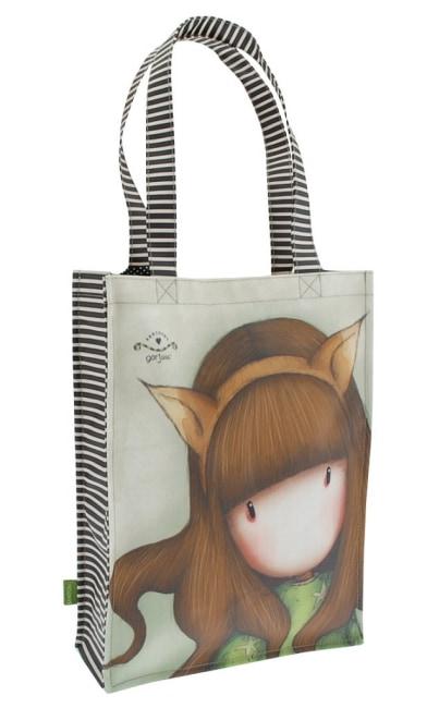 Nákupní taška Santoro London – The Fox, Rozměry: 25 x 35 x 9,5 cm