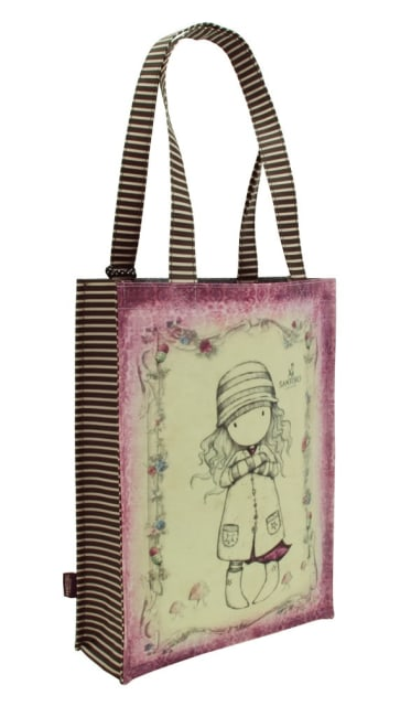 Nákupní taška Santoro London – Toadstools, Rozměry: 25 x 35 x 9,5 cm