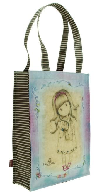 Nákupní taška Santoro London – Little Song, Rozměry: 25 x 35 x 9,5 cm