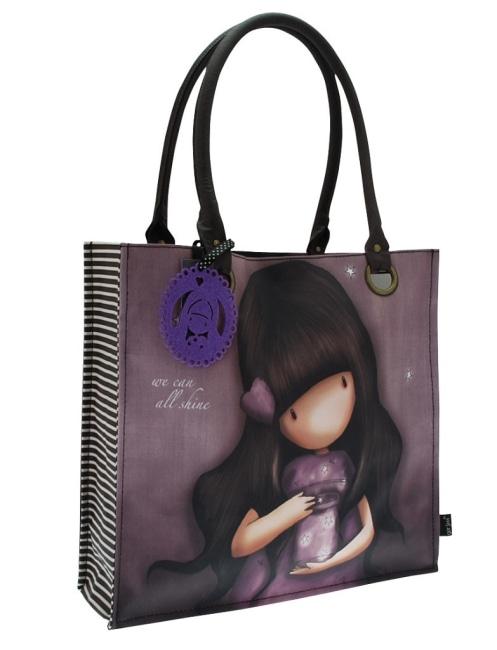 Nákupní taška velká Santoro London – We Can all Shine, Rozměry: 35 x 35 x 12 cm