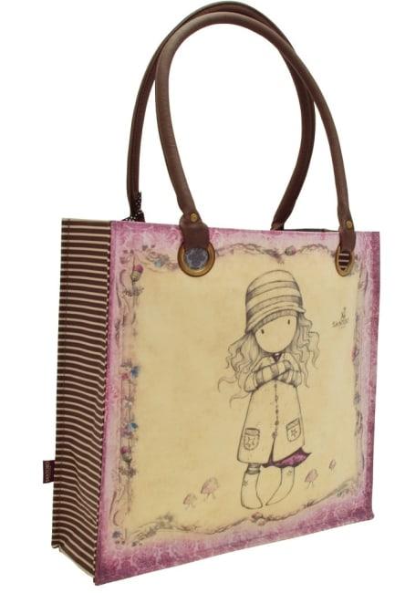 Nákupní taška velká Santoro London – Toadstools, Rozměry: 35 x 35 x 12 cm