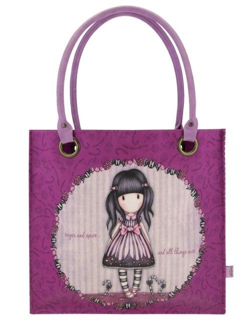 Nákupní taška velká Santoro London – Sugar And Spice, Rozměry: 35 x 35 x 12 cm