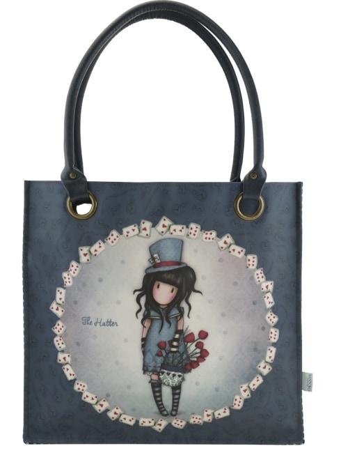 Nákupní taška velká Santoro London – The Hatter, Rozměry: 35 x 35 x 12 cm