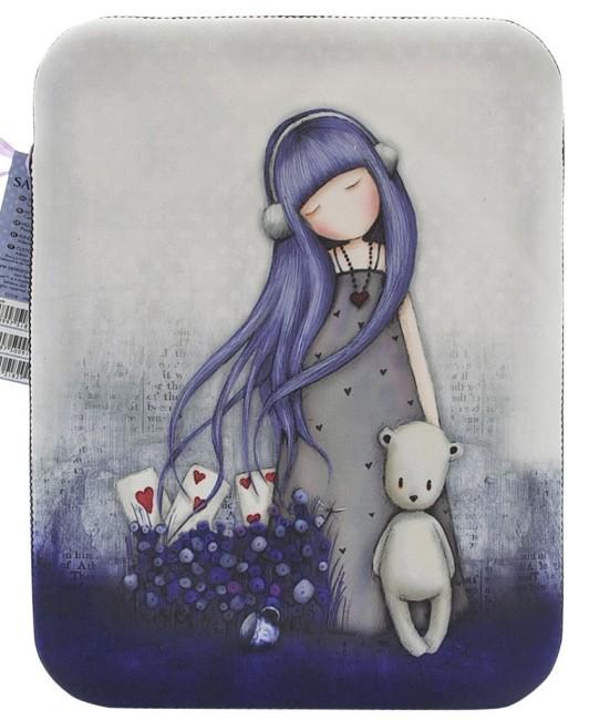 Pouzdro neoprenové na iPad 2 Santoro London – Dear Alice, 20 x 24 x 1.5 cm