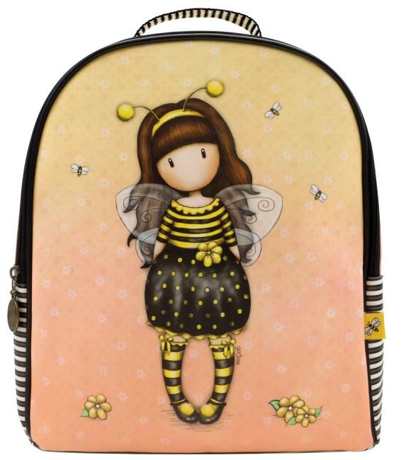 Batůžek  Santoro London –Bee-Loved (Just Bee-Cause),31 x 29 x 13.5cm