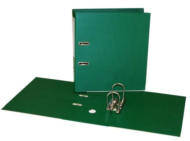 Pákový pořadač 5 cm, zelený