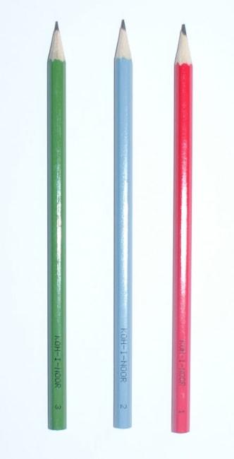 Tužka grafitová č. 1/B (červená)