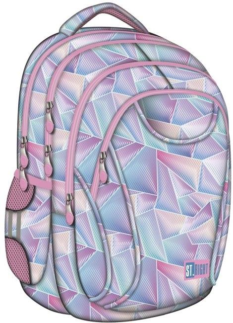 studentský batoh St.RIGHT - HOLO, 4 komorový, BP01