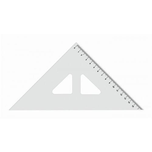 Pravítko trojúhelník s ryskou 16cm